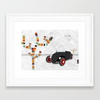 beetle Framed Art Prints featuring Beetle by jnk2007