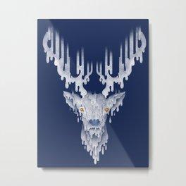 RAINdeer Metal Print
