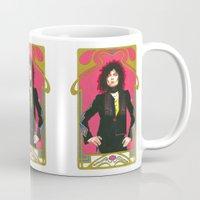 marc johns Mugs featuring Marc Bolan by Saoirse Mc Dermott