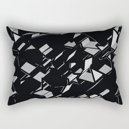 3D Mosaic BG II Rectangular Pillow