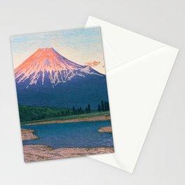 Mt. FUJI FUJIKAWA - Kawase Hasui Stationery Cards