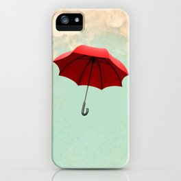 Red Umbrella iPhone Case