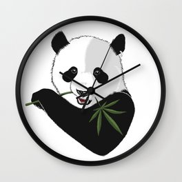 Save The Panda Wall Clock