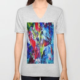 Abstract Perfection 6 Unisex V-Neck