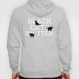 Cat Black Cats Matter Funny Black Cat Gift   Copy Hoody