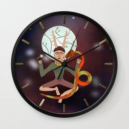 Cernunnos Wall Clock