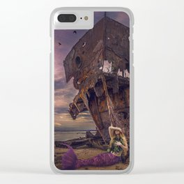 Siren's Sorrow Clear iPhone Case