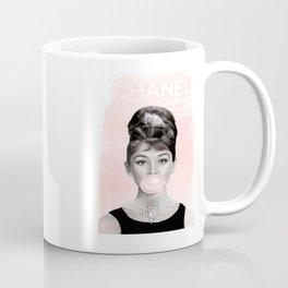Audrey Hepburn Bubble Coffee Mug