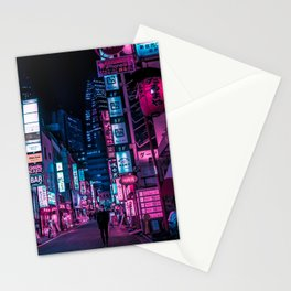 Stranger In The Night Stationery Cards