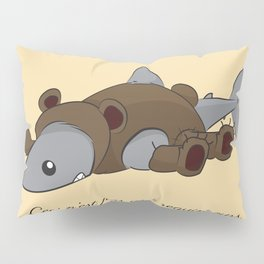 This is not a bearshark Pillow Sham