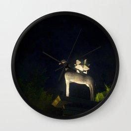 horse in hong kong Wall Clock