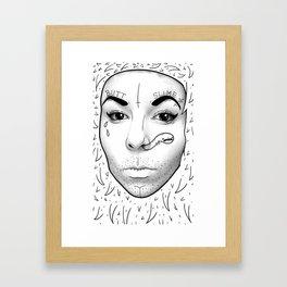 butt slime Framed Art Print