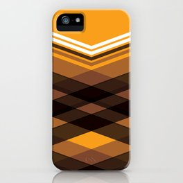 Brown Stripes iPhone Case