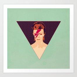 David Bowie/Aladdin Sane Art Print