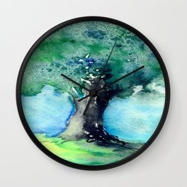 Oak Tree Wall Clock
