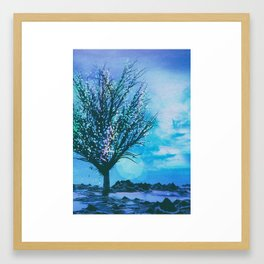 BIFURCATION (everyday 02.17.16) Framed Art Print
