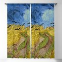 Wheat Field with Crows, Vincent Van Gogh by historia-images