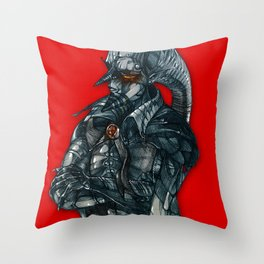 vampire lord Throw Pillow