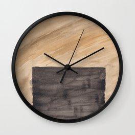 Color Blocking 9 Wall Clock