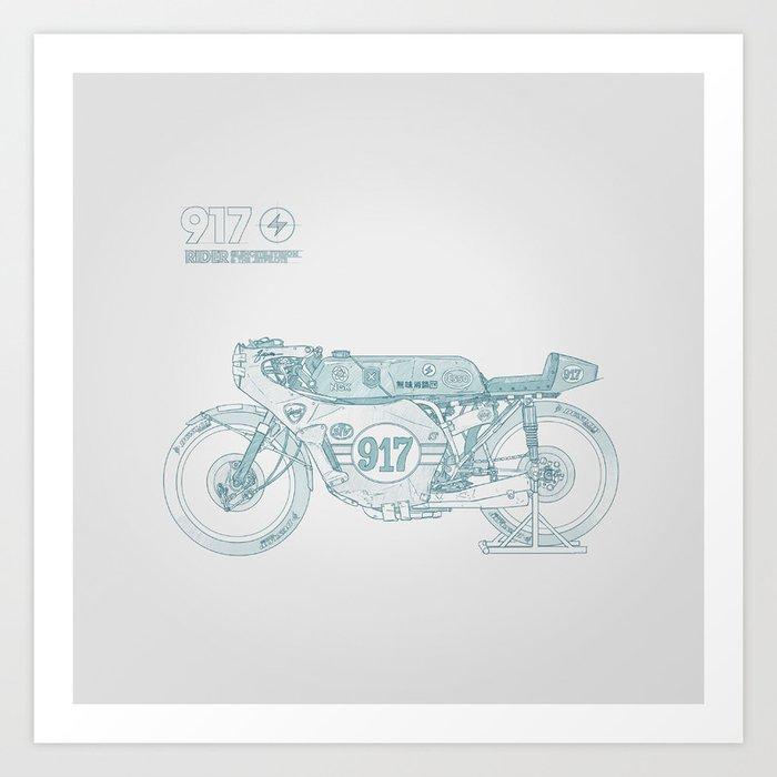 SKETCH Nº007 Art Print