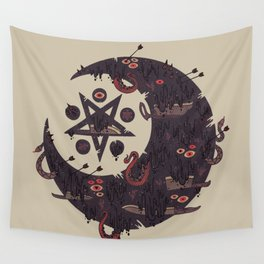 The Dark Moon Compels You to Fuck Shit Up Wall Tapestry