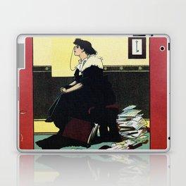 The New Woman, vintage Comedy Theatre london advert Laptop & iPad Skin