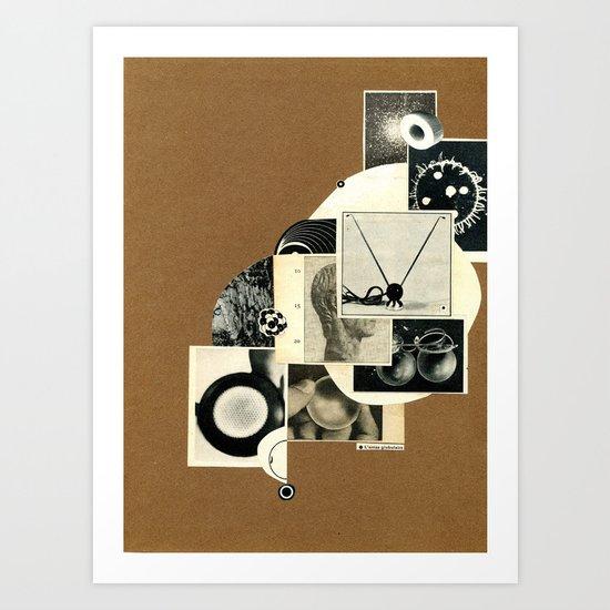L'amas gl°bulaire Art Print