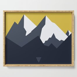 Mountains Serving Tray