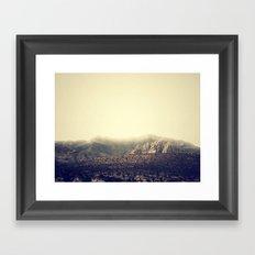 Whispering Mountain Framed Art Print