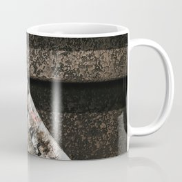Grungy Skateboard (Color) Coffee Mug
