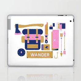 Wandering the Woods Travel Pattern Laptop & iPad Skin