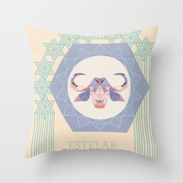 Baph Estelar Throw Pillow