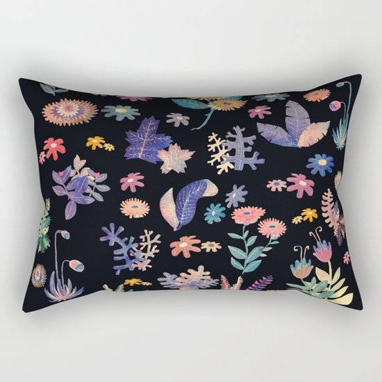 color garden!! Rectangular Pillow