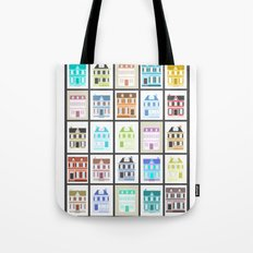 Victorian Houses Tote Bag