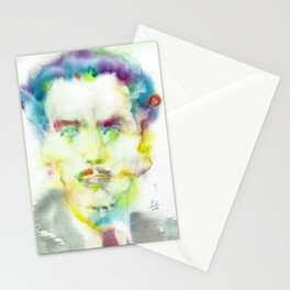 MARSHALL MCLUHAN - watercolor portrait Stationery Cards