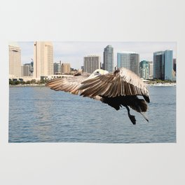 Pelican Ready To Land Rug