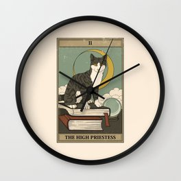 The High Priestess Wall Clock