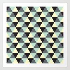 Geometric Pattern #174 Art Print