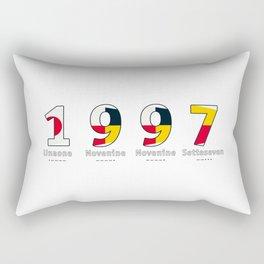 1997 - NAVY - My Year of Birth Rectangular Pillow