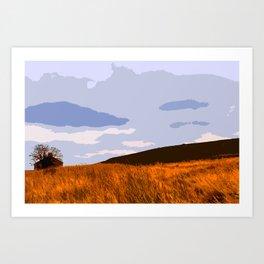 Ilkley Moor - Yorkshire, UK Art Print