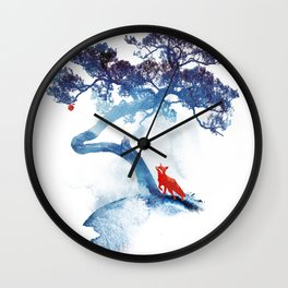 The last apple tree Wall Clock