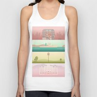 wes anderson Tank Tops featuring A Wes Anderson Collection by George Townley