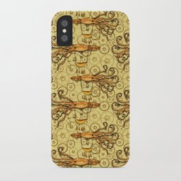 Steampunk Squid Transport iPhone Case