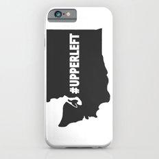 #Upperleft Gray Slim Case iPhone 6s