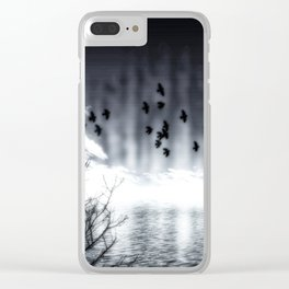 Herbstsee Clear iPhone Case