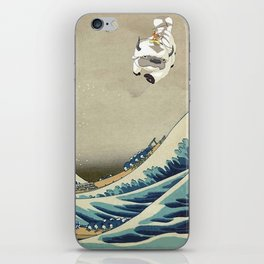 The Great Wave Off Katara iPhone Skin