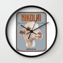 Rancho Relaxo Fundraiser: In Memory of Nikolai Wall Clock