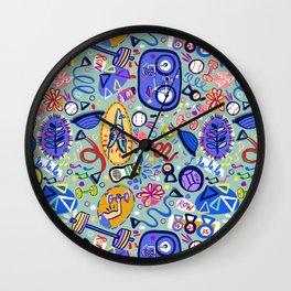 Exercise Fun! Wall Clock