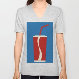 Cup Of Coke Unisex V-Neck