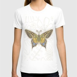 Antique Butterfly T-shirt